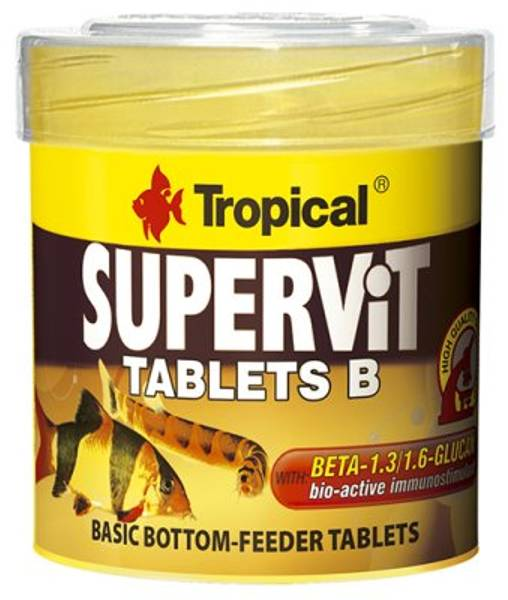 Bilde av TROPICAL SUPERVIT TABLETS B 50ML/36g 200ST
