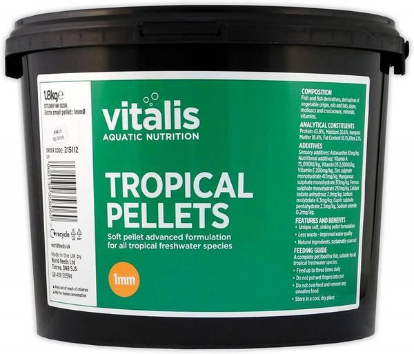 Bilde av Vitalis Tropical Pellets xs - 1,8kg